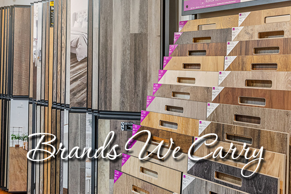 Brands carried at Paul's Abbey Carpet & Floor.