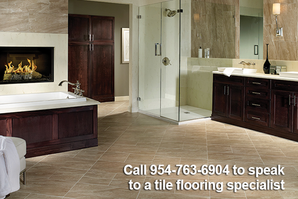Beautify your home with custom tile from Paul's Abbey Carpet & Floor in Ft. Lauderdale.