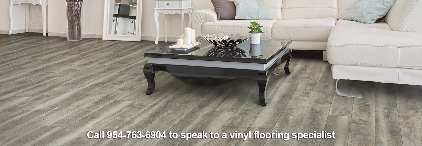 Beautify your home with luxury vinyl flooring from Paul's Abbey Carpet & Tile in Fort Lauderdale.