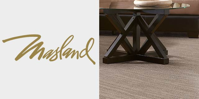 Featuring carpet and rugs from Masland.