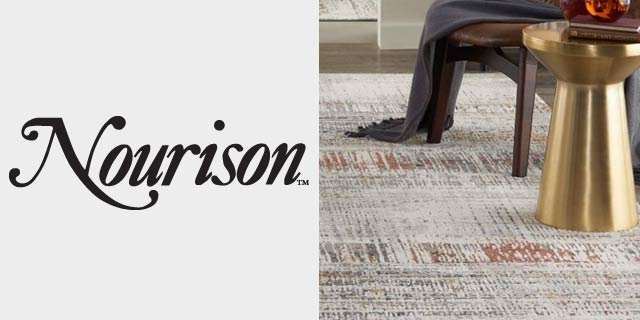 Featuring carpet and rugs from Nourison.