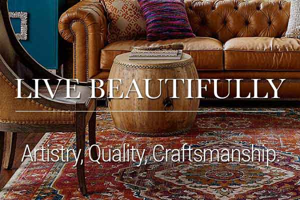 Karastan - designed to delight all of your senses and inspire you to live beautifully.