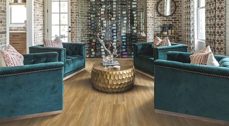 Karastan luxury vinyl floors are designed to live beautifully for generations to come.